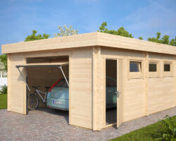 Modern Garage D with Up and Over Door