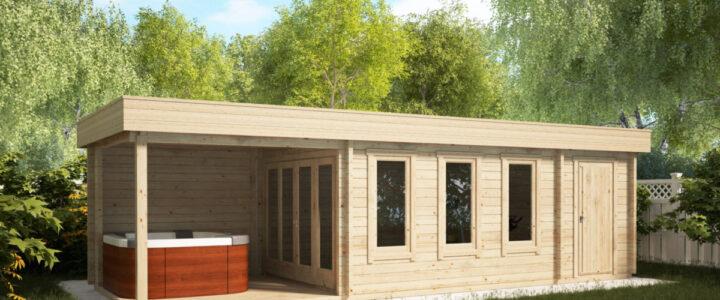 Sauna v záhradnom domčeku – vaše domáce wellness